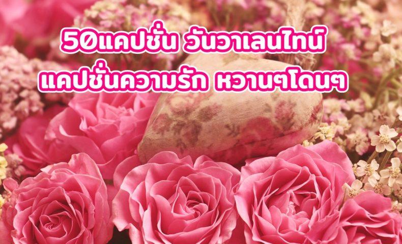 แคปชั่น วันวาเลนไทน์ แคปชั่นความรัก หวานๆโดนๆ 2564