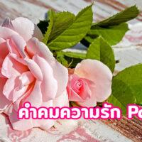 30 คำคมความรัก 15/01/2564